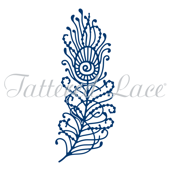Tattered Lace - Peacock Feather Die
