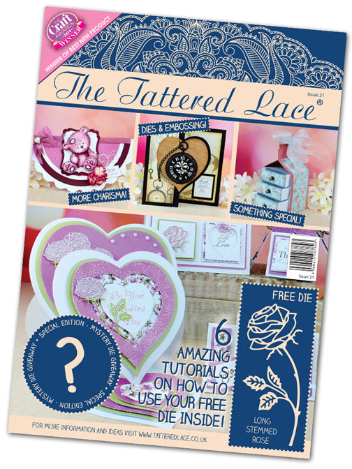 Tattered Lace Magazine #21 (includes 2 Free Dies)