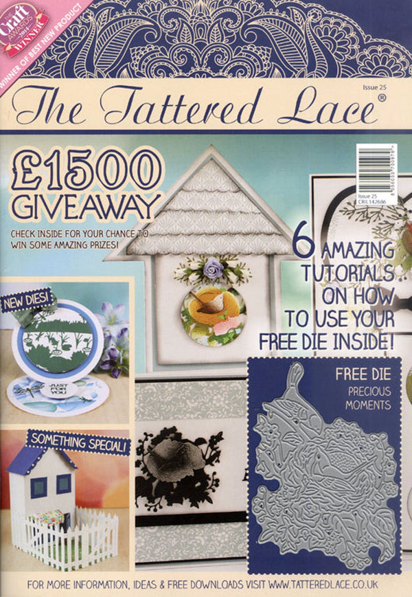 Tattered Lace Magazine #25 (includes Free Die)