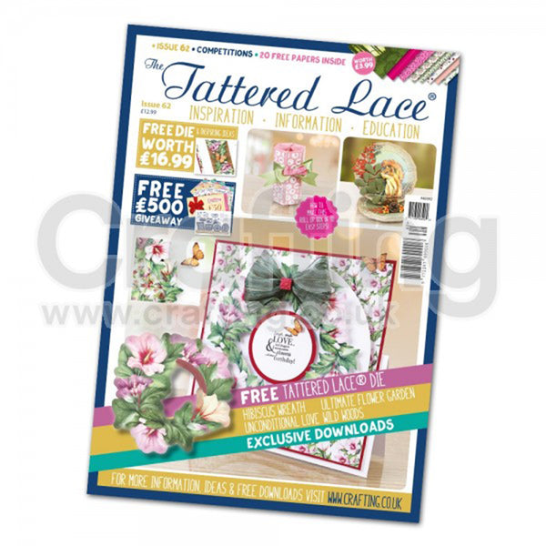 The Tattered Lace Magazine Issue #62 with FREE Die