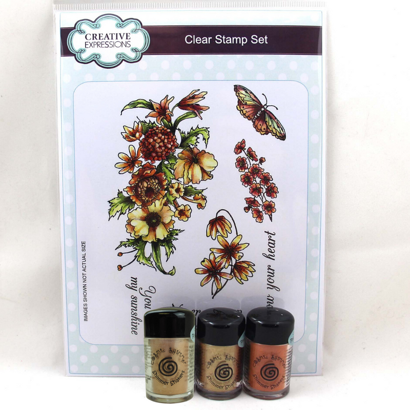 Shimmer Shaker Flower Bundle 2 - Bouquet