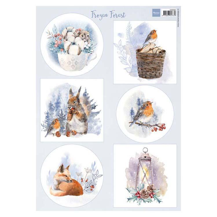 Marianne Design Cutting Sheet Frozen Forest