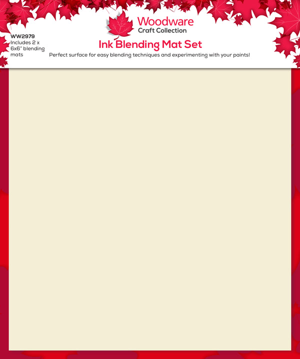 Woodware Ink Blending Mats 2 6 x 6 inches