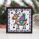 Woodware Clear Singles Rudolph Pressies 4 in x 6 in Stamp