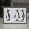 Woodware Clear Singles King Penguins 4 in x 6 in Stamp