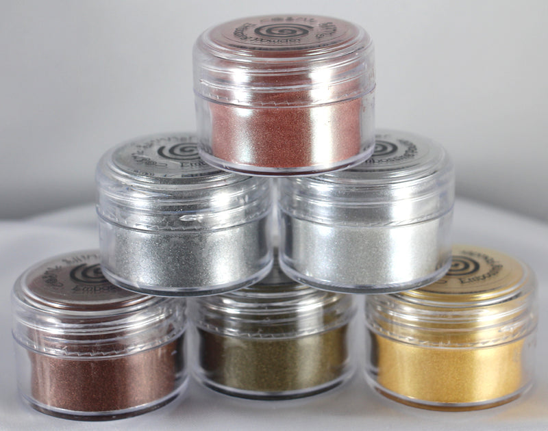 Cosmic Shimmer Metallic Embossing Powder