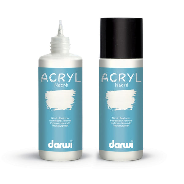 Darwi Acrylic Pearlescent Paints 80mL