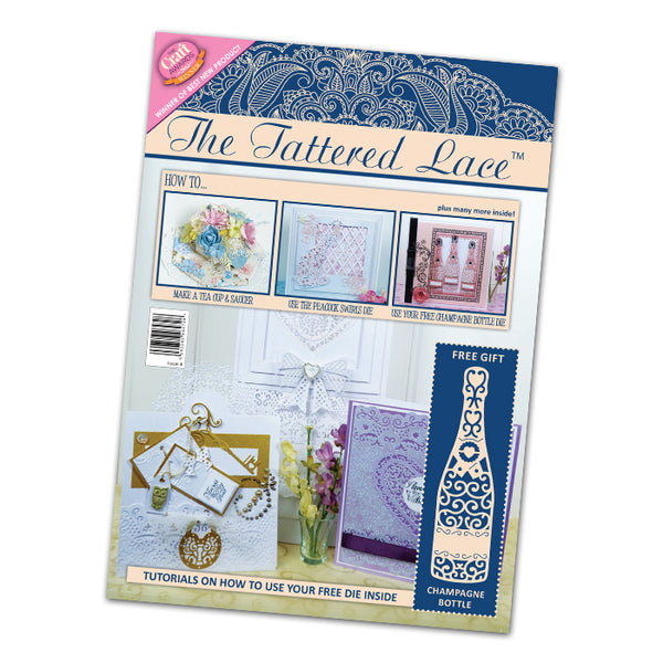 Tattered Lace Magazine #4 (includes a FREE die)