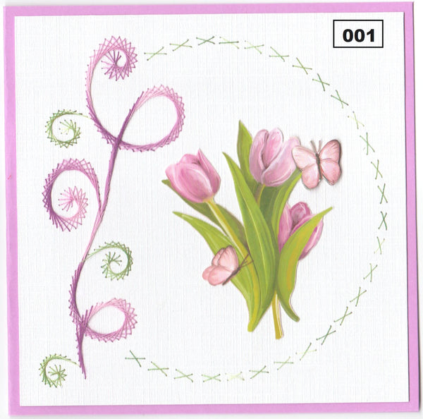 Laura's Design Digital Embroidery Pattern - Swirl & Circle