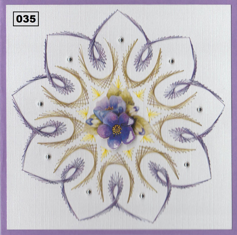 Laura's Design Digital Embroidery Pattern - Mandala
