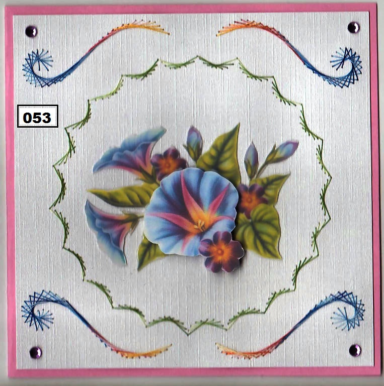 Laura's Design Digital Embroidery Pattern - Scalloped Frame