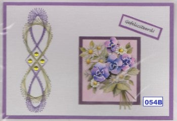 Laura's Design Digital Embroidery Pattern - Vertical Swirling Border