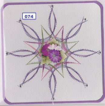 Laura's Design Digital Embroidery Pattern - Large Flower 2