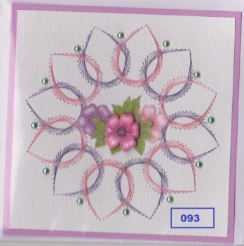 Laura's Design Digital Embroidery Pattern - Large Flower 5