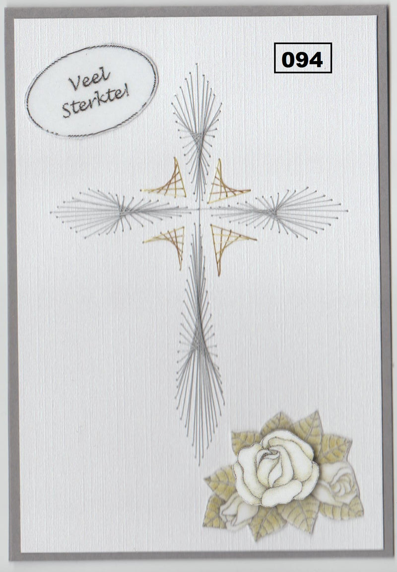 Laura's Design Digital Embroidery Pattern - Elegant Cross