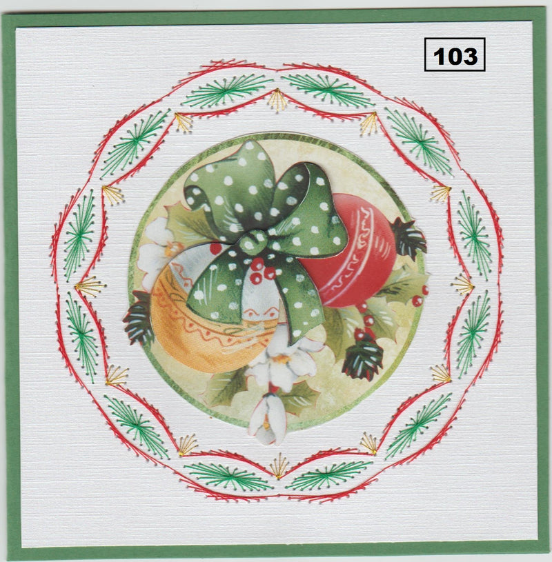 Laura's Design Digital Embroidery Pattern - Smooth Wreath