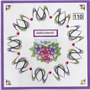 Laura's Design Digital Embroidery Pattern - Tulip Wreath