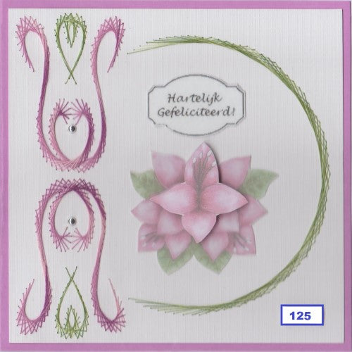 Laura's Design Digital Embroidery Pattern - Circle and Flourish