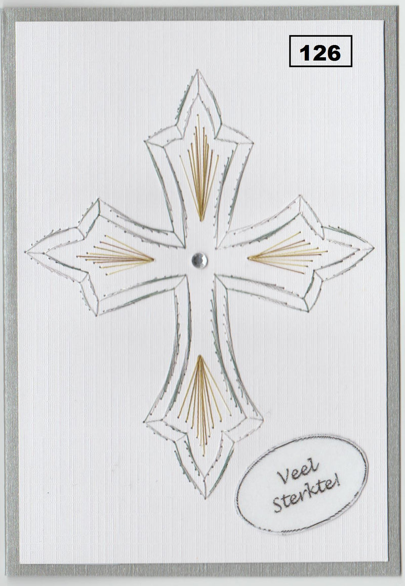 Laura's Design Digital Embroidery Pattern - Ornate Cross