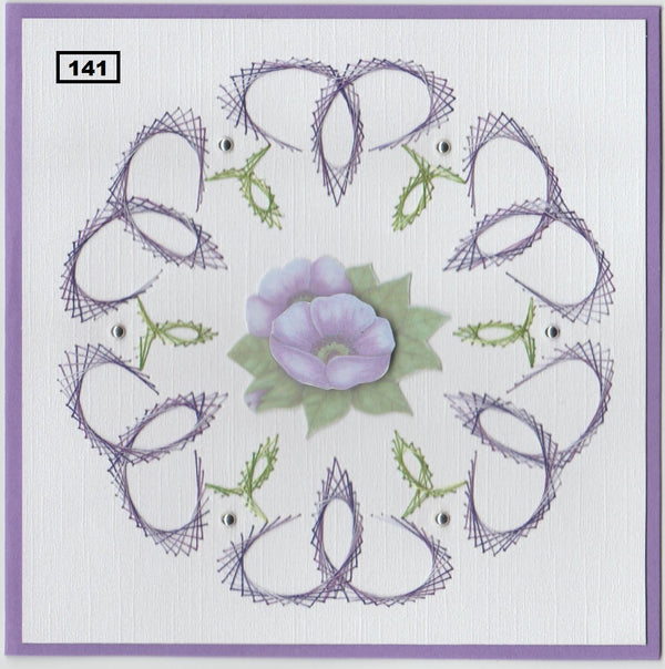 Laura's Design Digital Embroidery Pattern - Infinity Frame