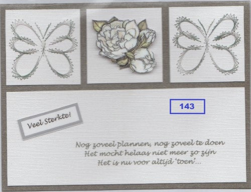 Laura's Design Digital Embroidery Pattern - Butterfly Corners