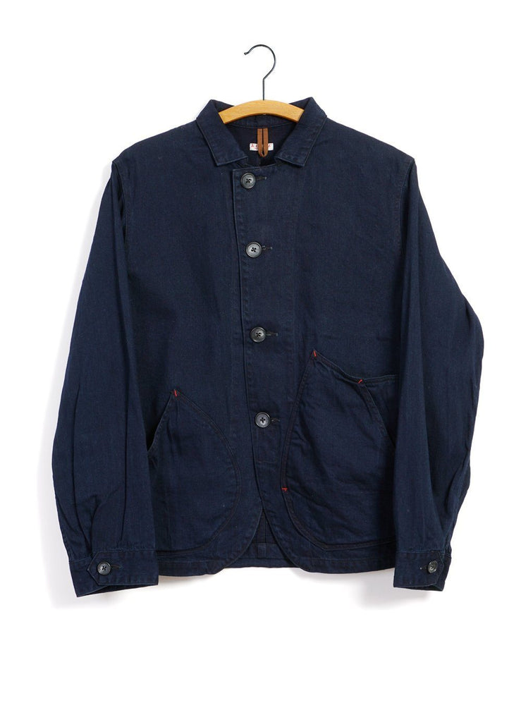 Kapital - 10oz x 8oz RINGOMAN | Denim Coverall | Indigo - HANSEN Garments