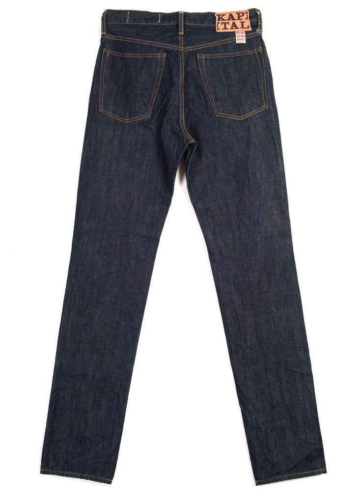 14OZ DENIM 5P | One Wash Jeans | Indigo | €240 -Kapital- HANSEN Garments