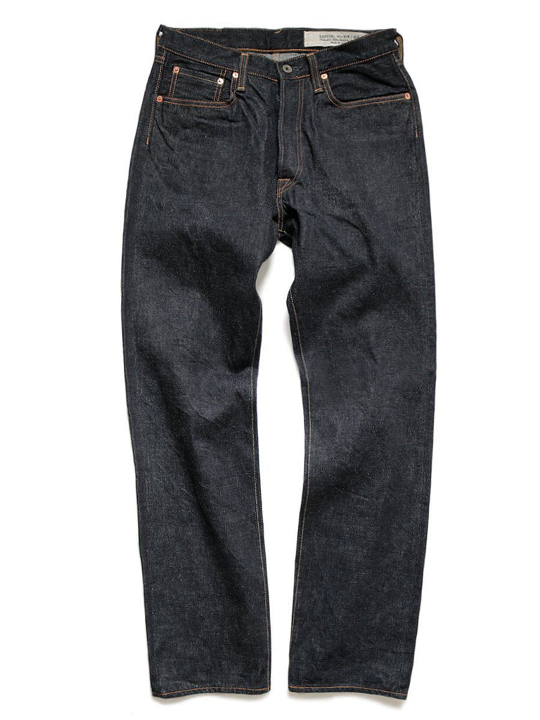 Kapital - 14OZ DENIM 5P TH STRAIGHT | One Wash Jeans | Indigo - HANSEN Garments