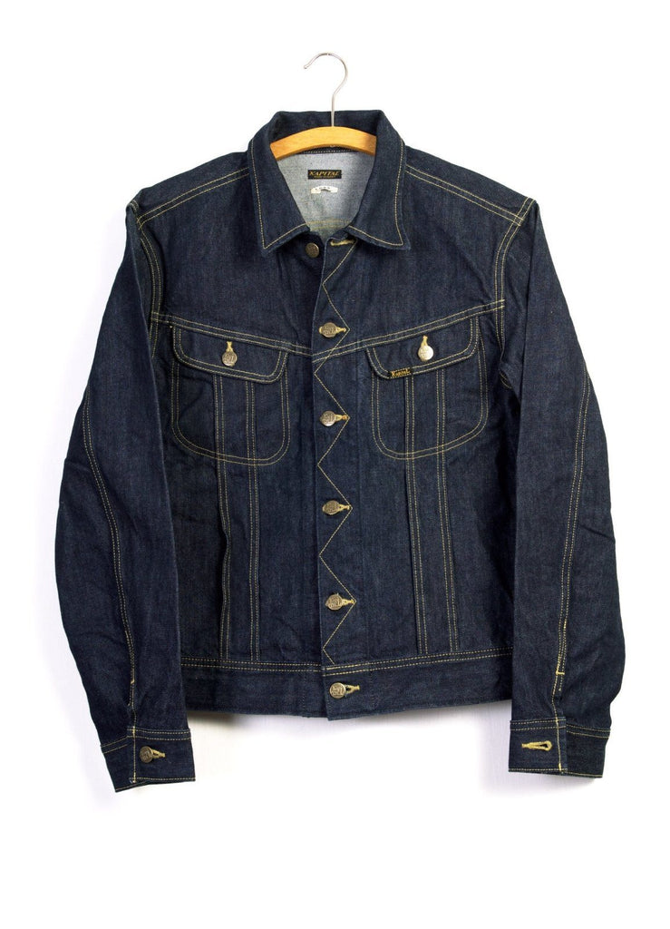 14OZ DENIM WESTERNER LONG | Denim Jacket | Indigo | €385 -Kapital- HANSEN Garments