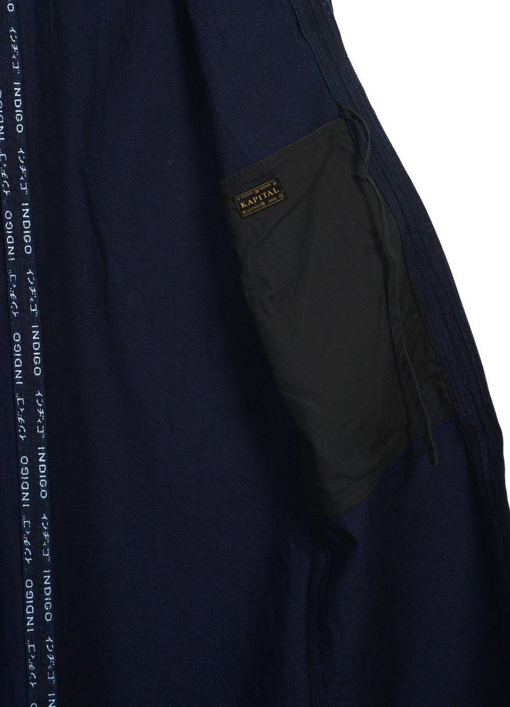 8oz SELVEDGE DENIM | KAKASHI COAT | Indigo | € 525 -Kapital- HANSEN Garments