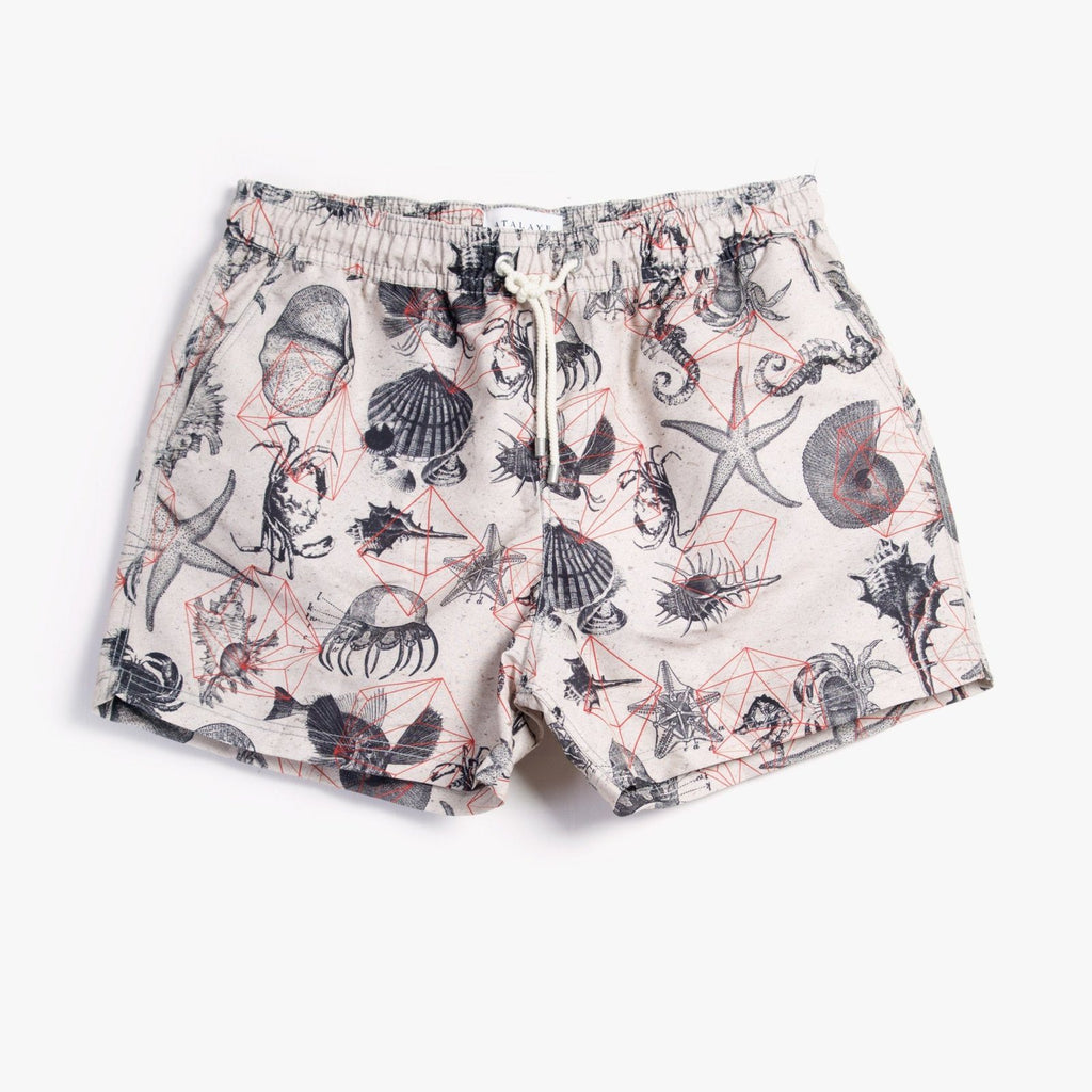 ABYSS | Swim Shorts | Sand | €110 -Atalaye- HANSEN Garments