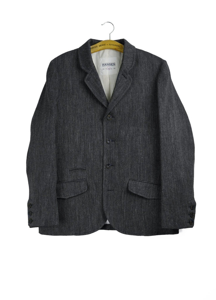 AKSEL | Blazer | Dark Grey | €400 -HANSEN Garments- HANSEN Garments
