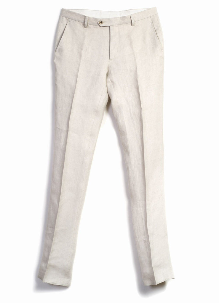 ALEX | Formal Suit Trousers | Ecru I €270 -HANSEN Garments- HANSEN Garments