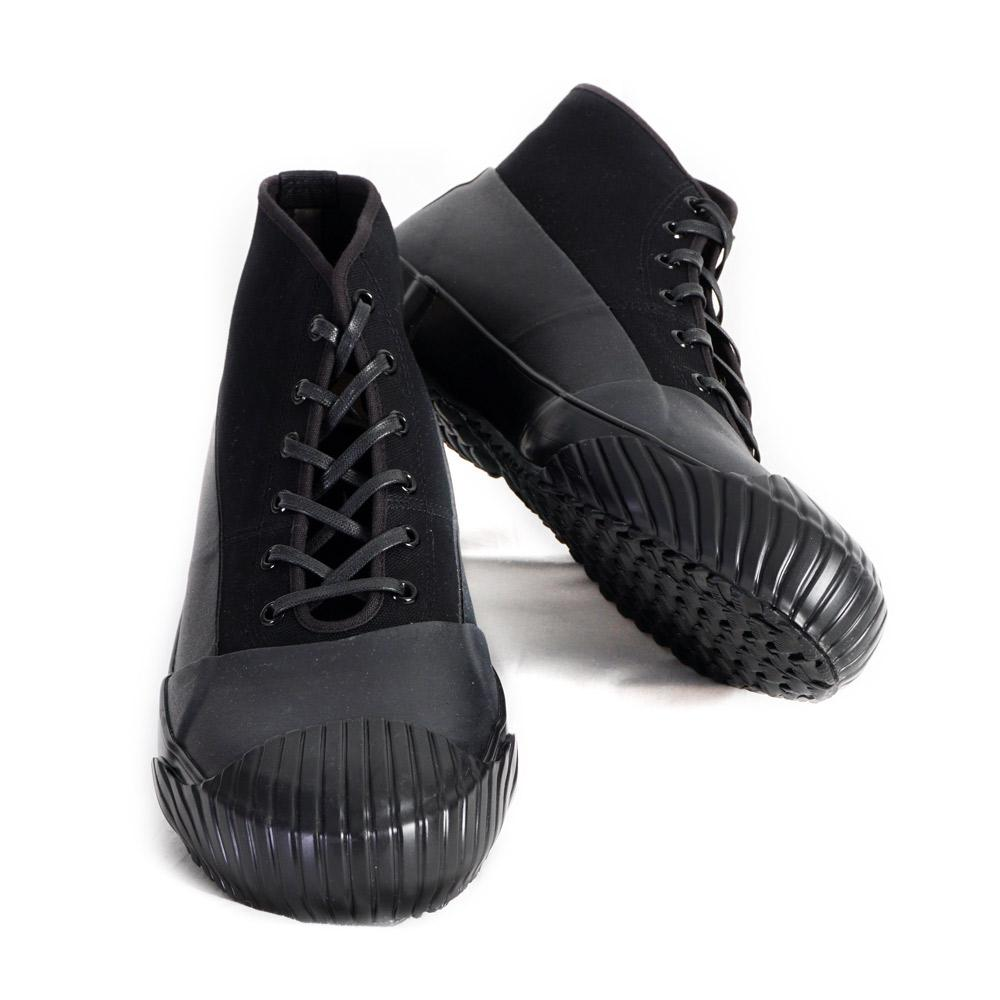 ALLWEATHER | Vulcanised Sole Sneaker Boot | Black | €250 -Moon Star- HANSEN Garments