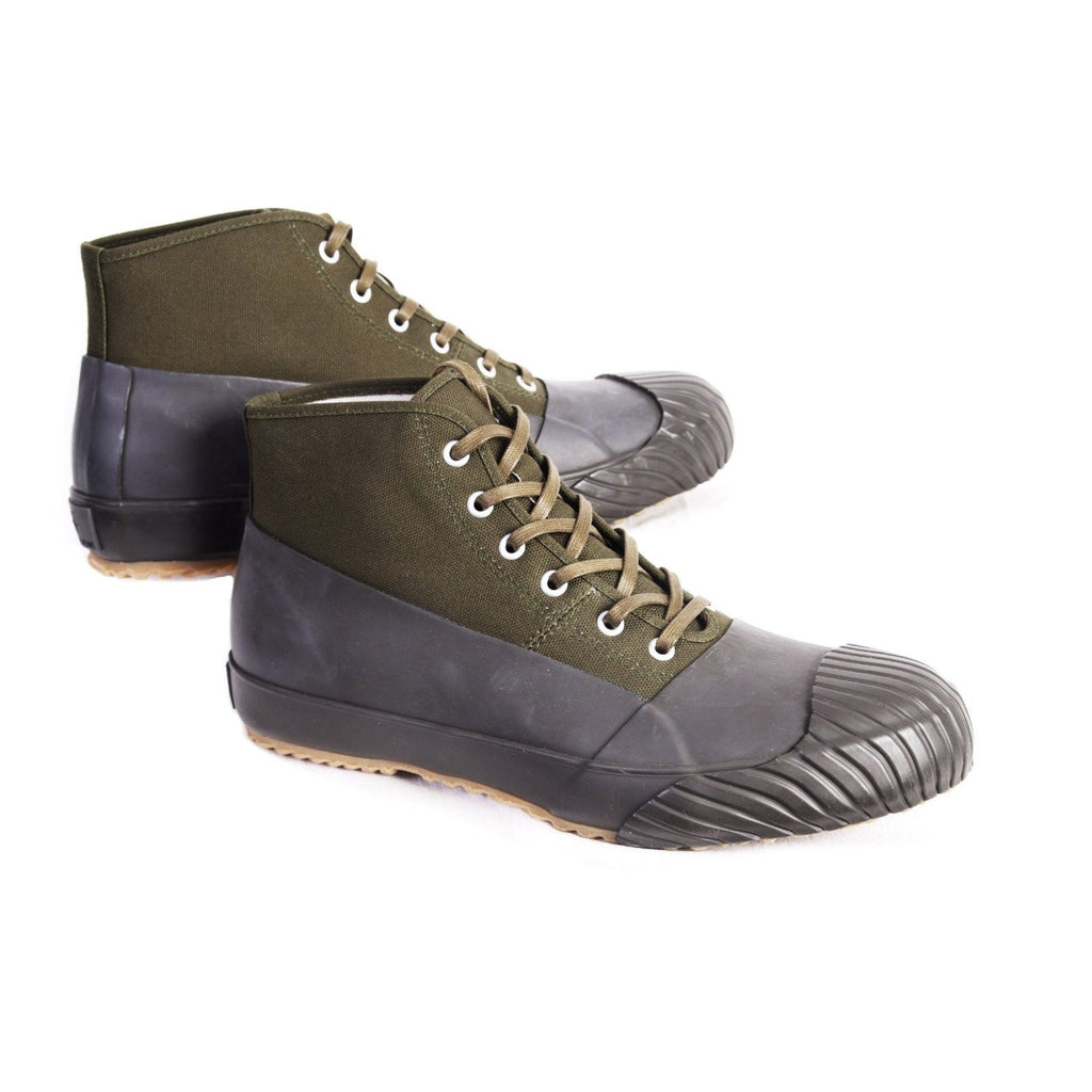 ALLWEATHER | Vulcanised Sole Sneaker Boot | Khaki | €250 -Moon Star- HANSEN Garments