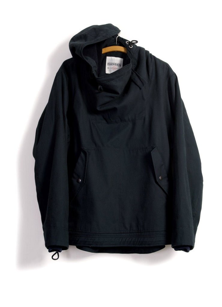 AMUNDSEN | Wool Lined Anorak | Petroleum | €495 -HANSEN Garments- HANSEN Garments