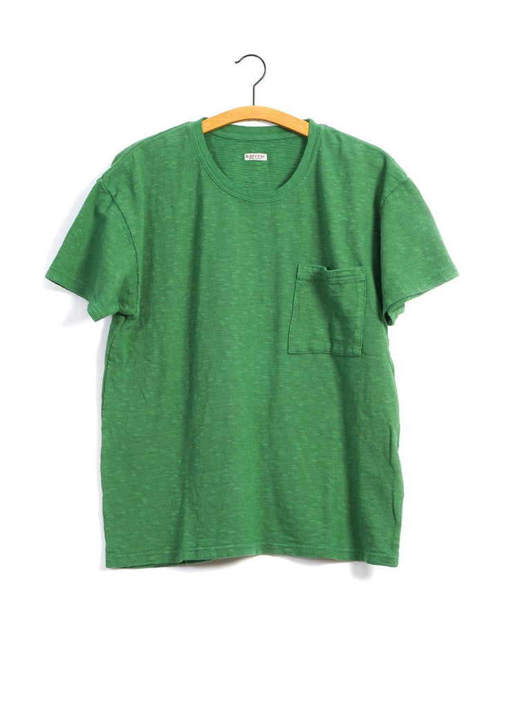 AMUSE | Short Sleeve Pocket T | Green | €135 -Kapital- HANSEN Garments