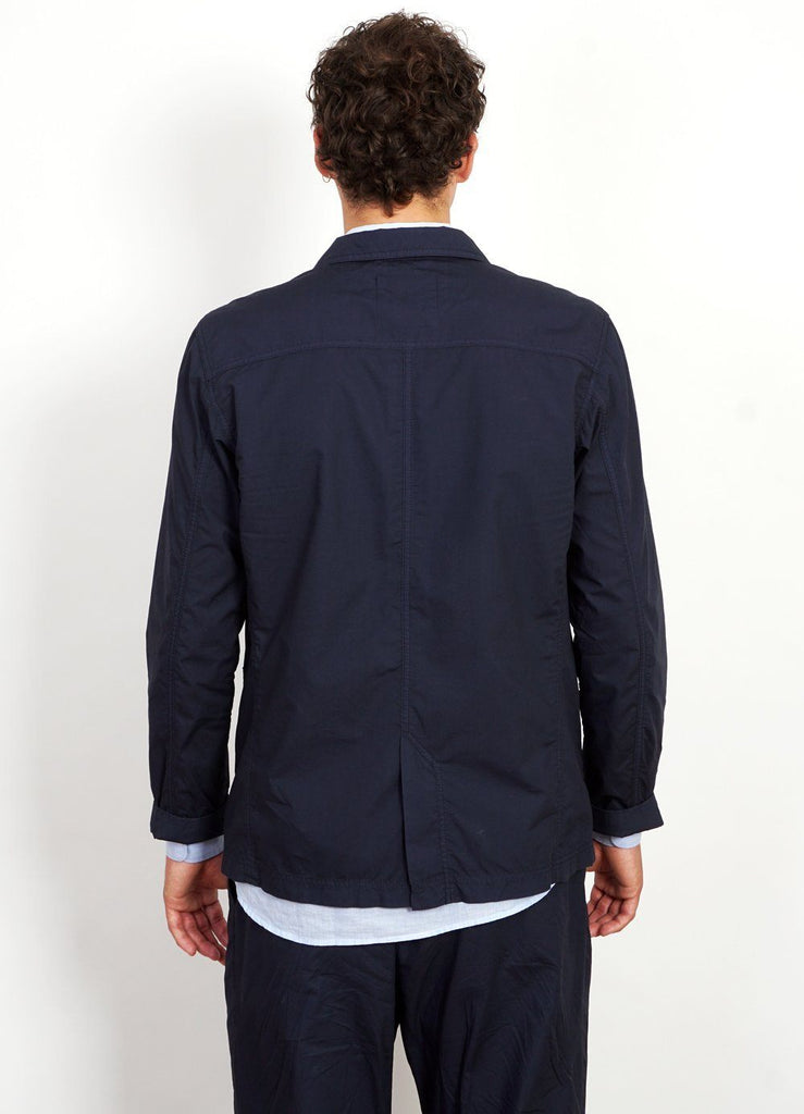 ANDERS | Light Work Jacket | Navy -HANSEN Garments- HANSEN Garments