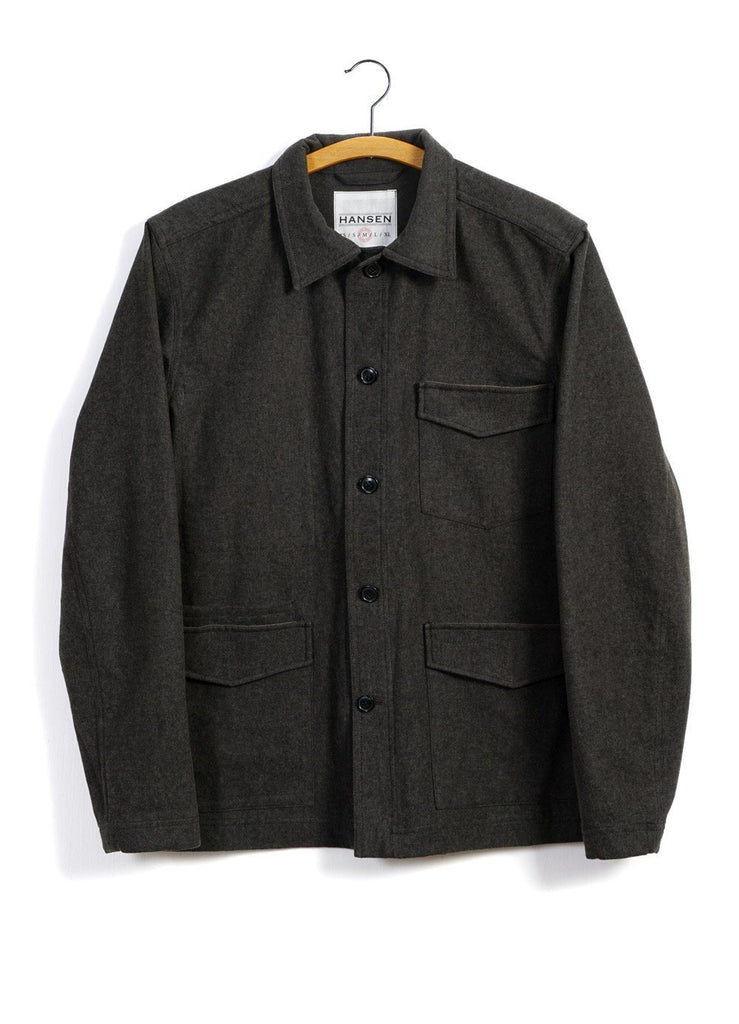 ANDERS | Work Jacket | Coal | €335 -HANSEN Garments- HANSEN Garments