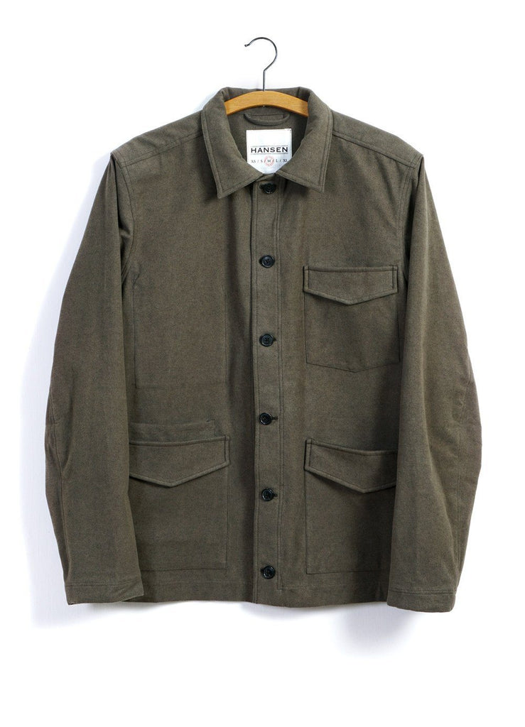ANDERS | Work Jacket | Taupe | €335 -HANSEN Garments- HANSEN Garments
