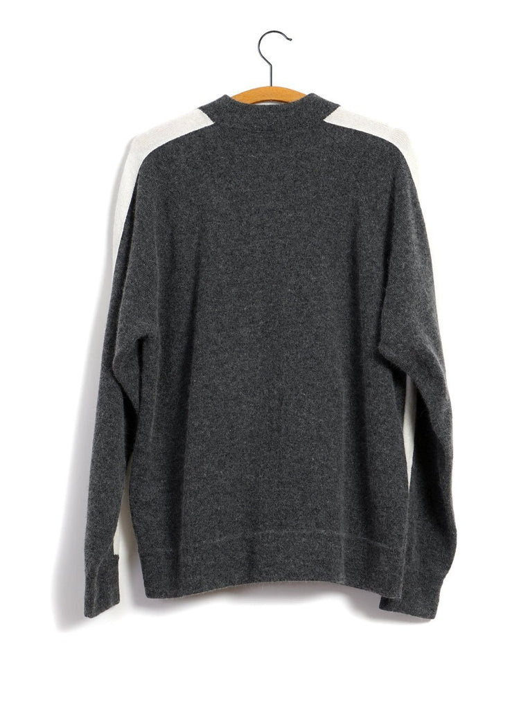 MOUNTAIN RESEARCH - ANGORA SWEAT SHIRT | Grey - HANSEN Garments