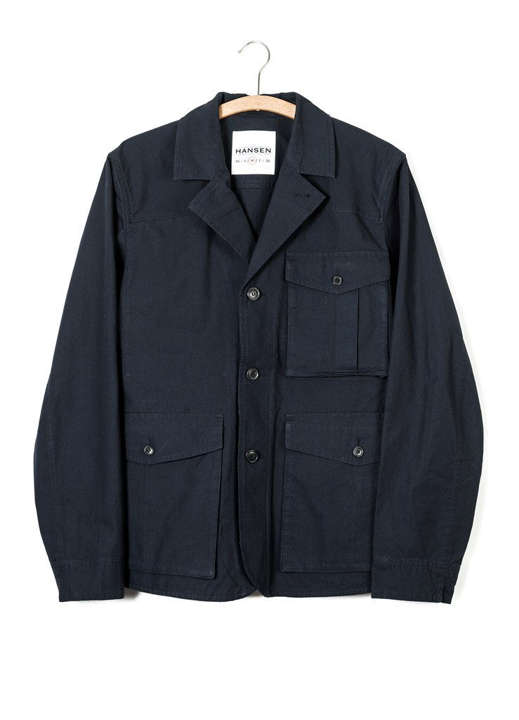 ANTON | Open Back Jacket | Arctic Blue | €335 -HANSEN Garments- HANSEN Garments