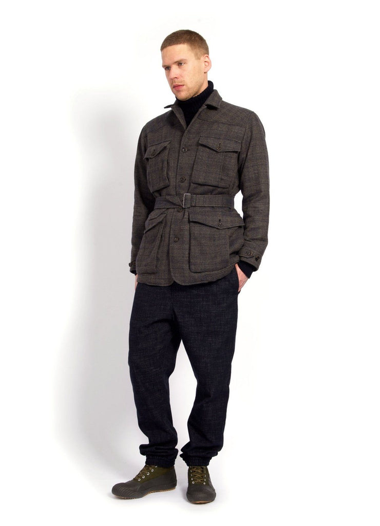 ARVE | Cargo Pockets Tweed Jacket | Trout | €595 -HANSEN Garments- HANSEN Garments