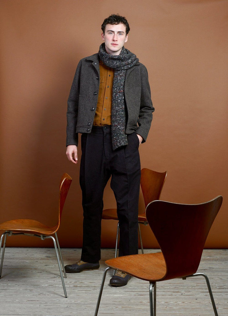 HANSEN Garments - ATLAS | Short Wool Felt Jacket | Brown - HANSEN Garments