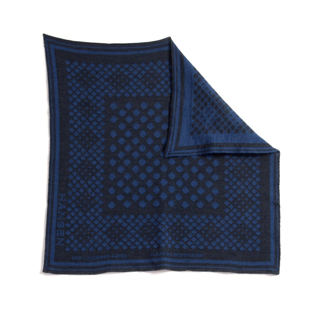 BANDANA ONE | DOT | Blue-Grey | €95 -HANSEN Garments- HANSEN Garments