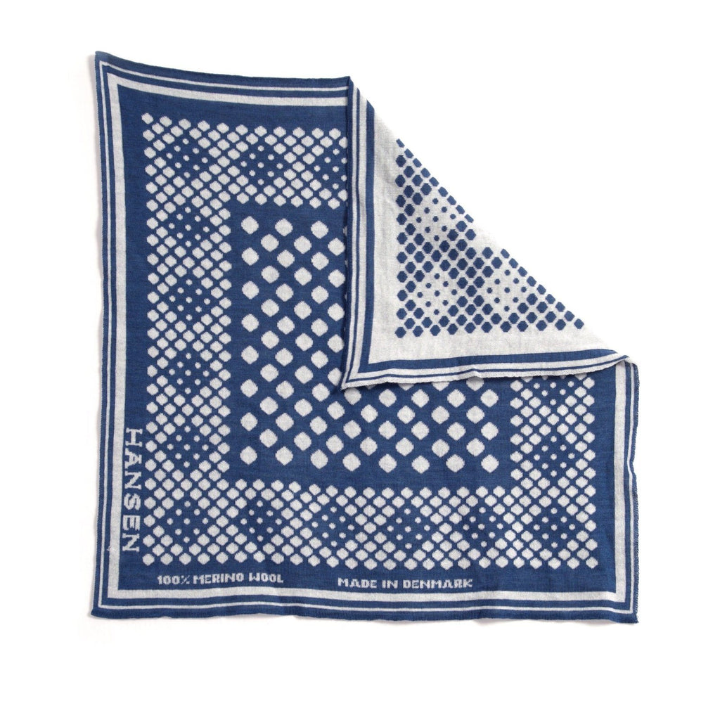 BANDANA ONE | DOT | Blue-White | €95 -HANSEN Garments- HANSEN Garments