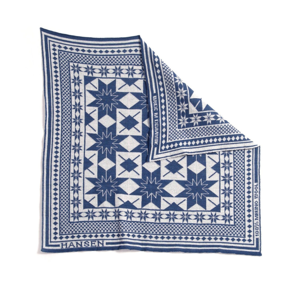 BANDANA TWO | Snow | Blue-White | €95 -HANSEN Garments- HANSEN Garments