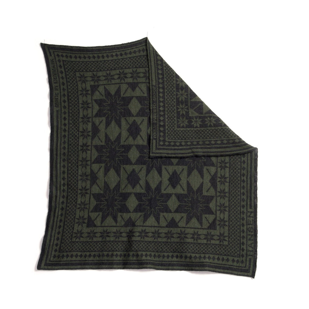BANDANA TWO| Snow | Green-Grey | €95 -HANSEN Garments- HANSEN Garments