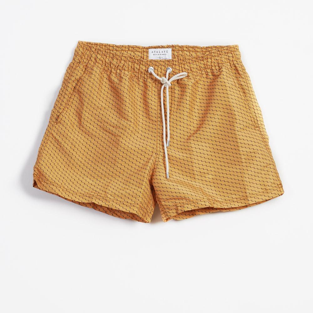 BERDOLY | Swim Shorts | Gold | 110€ -Atalaye- HANSEN Garments