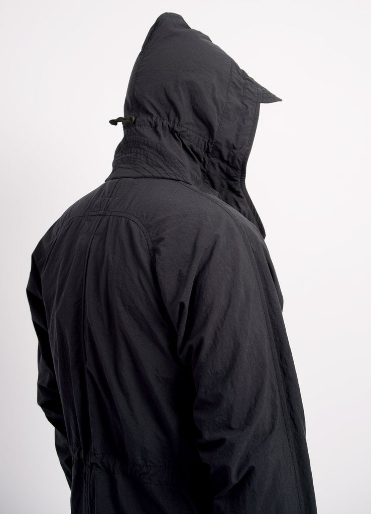 BJOERN | Hooded Windbreaker | Black Navy | €555 -HANSEN Garments- HANSEN Garments